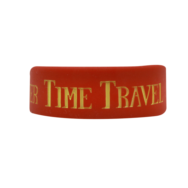 Time Travel Rubber Bracelet